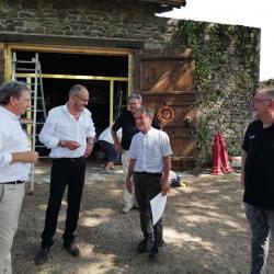 32. Rencontre Jacques Vigneras & Paolo Del Vecchio propriétaires Château Châlus Chabrol
