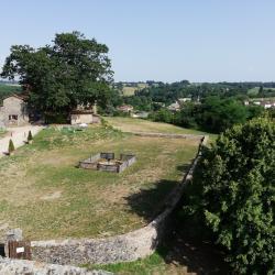 35. Vue sur l'ancien jardin médiéval