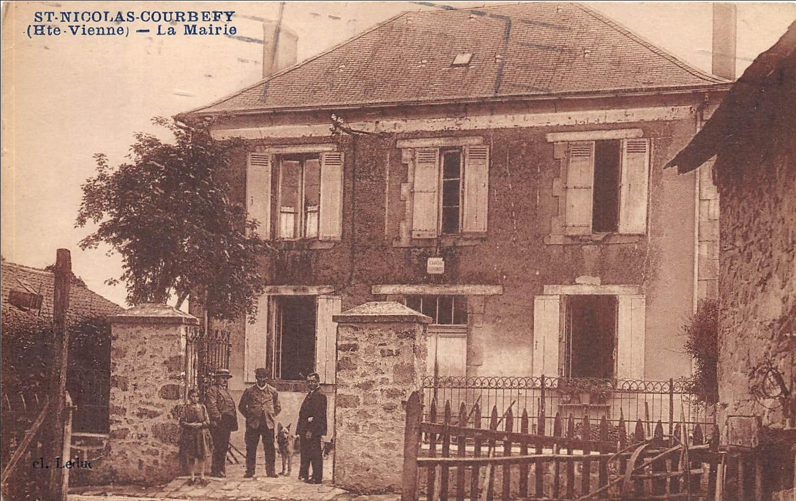 Mairie de St-Nicolas Courbefy