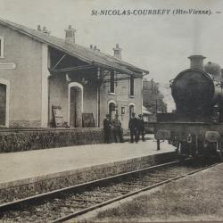 Gare de St-Nicolas Courbefy