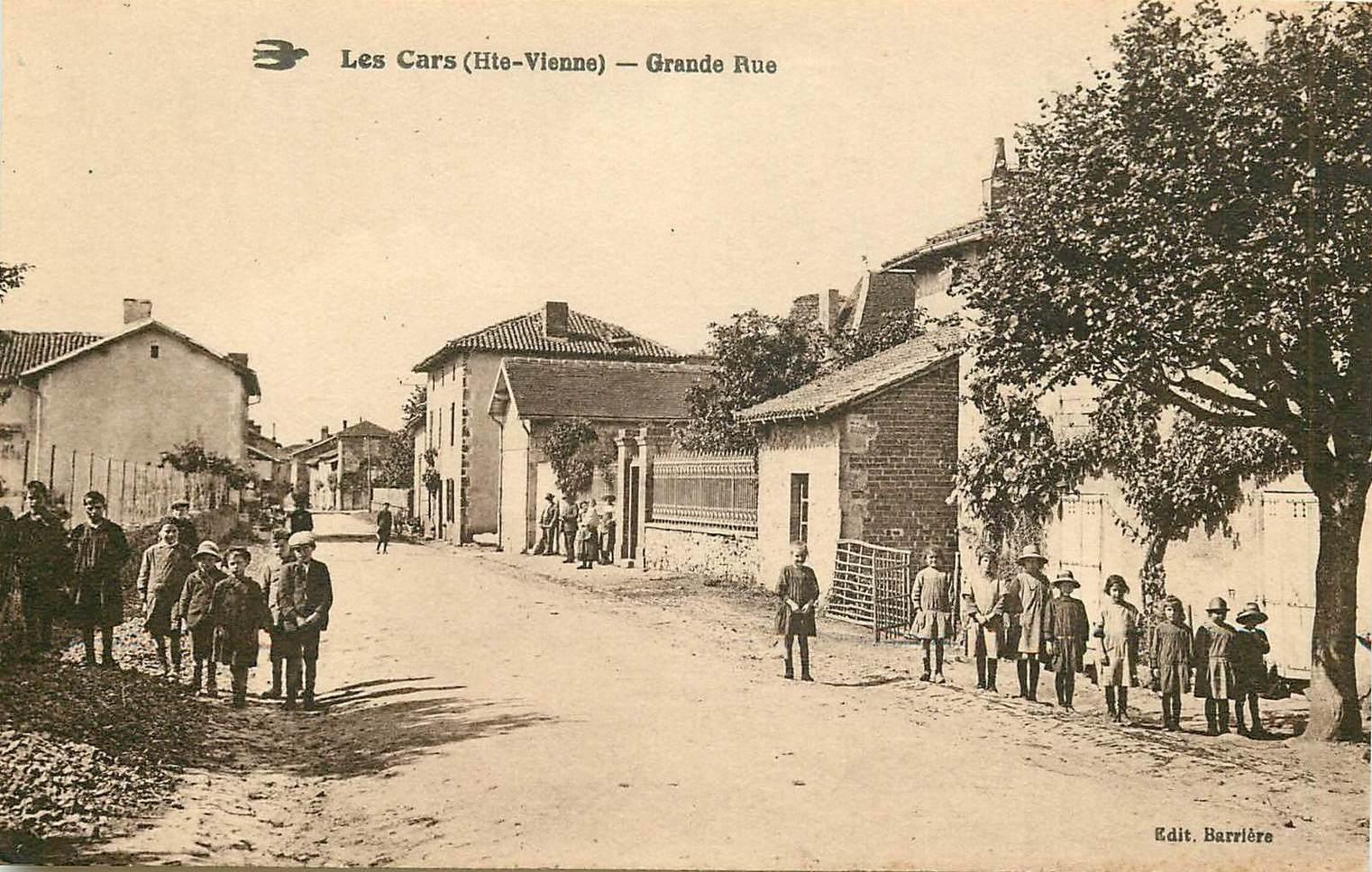 Centre bourg Les Cars