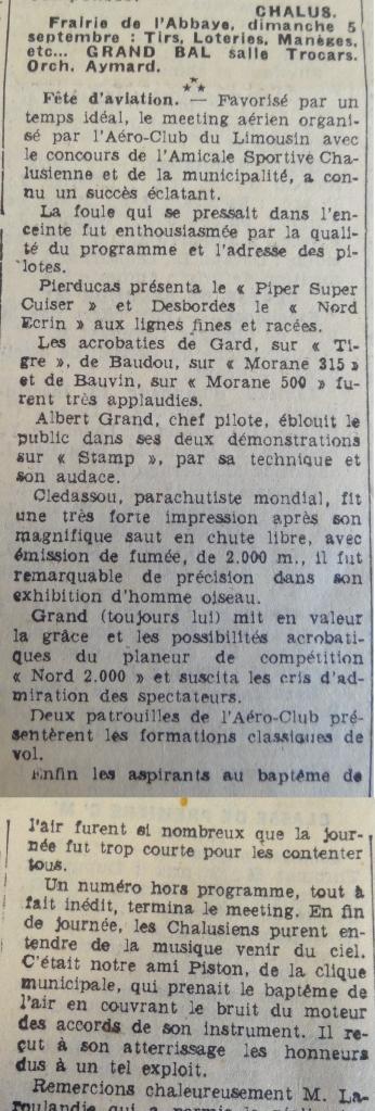 Art. Populaire du 03.09.1954