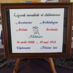 80 ans après, Châlus honore T. E. Lawrence