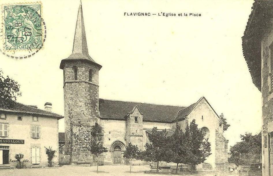Flav21 eglise et place
