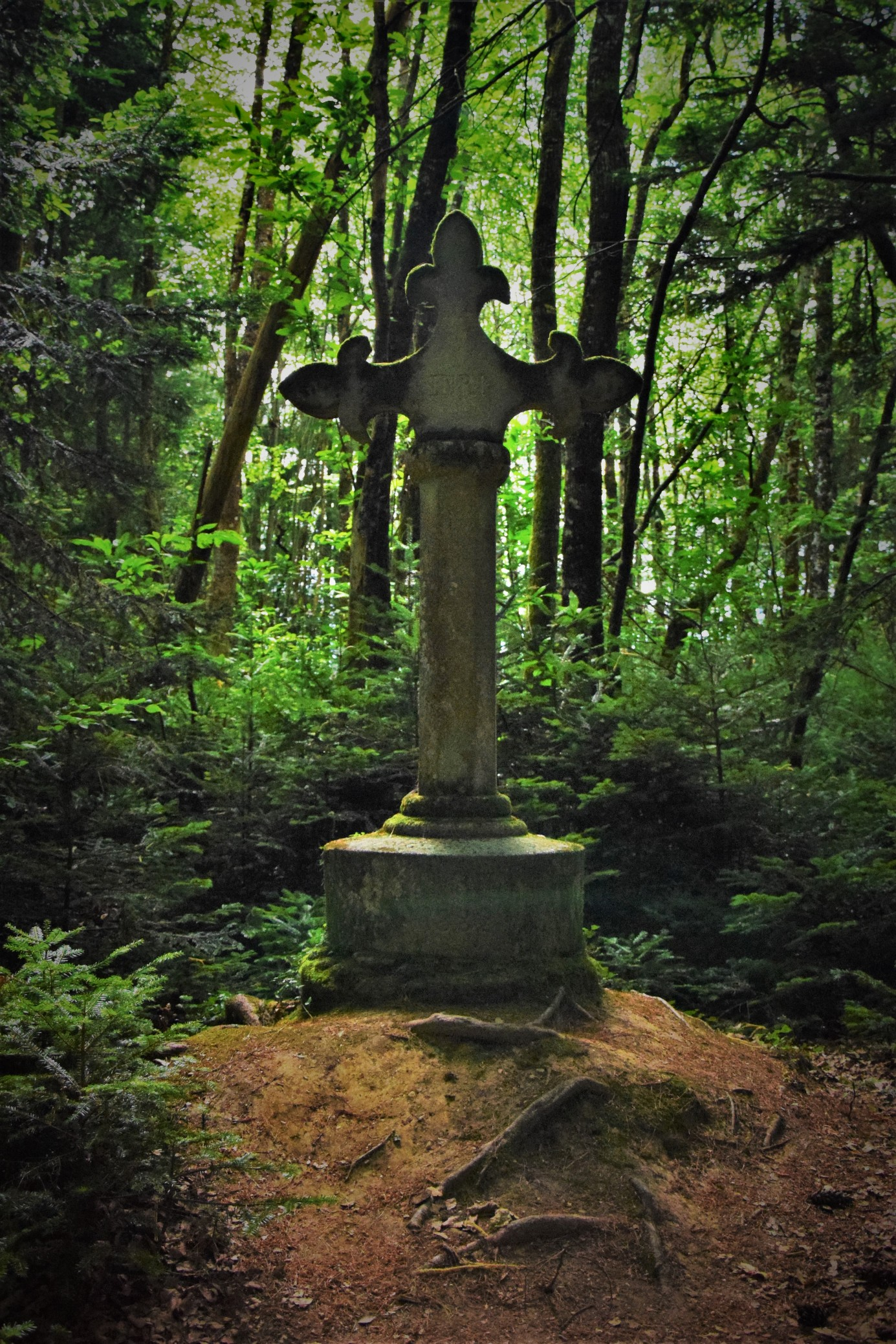 La Croix de Montbrun  (croix d'en bas) - Dournazac