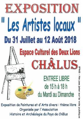 Affiche artistes 2018
