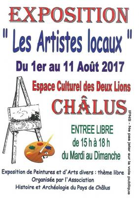 Affiche artistes locaux