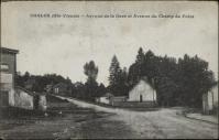 Av de la gare chalus avant 1923