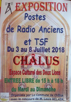 Exposition Postes Radio Anciens 2 de Louis Belair