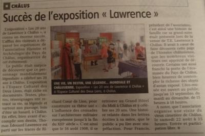 Art. Le Populaire du 13/08/2015