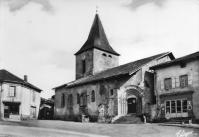 Eglise de champagnac en 1965