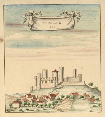Gravure chailus 1460
