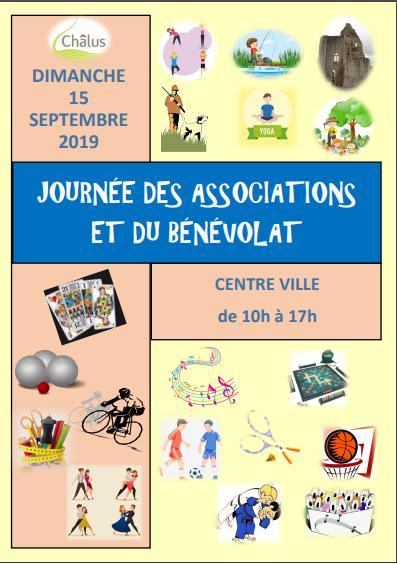 Affiche journée associations du 15 sept