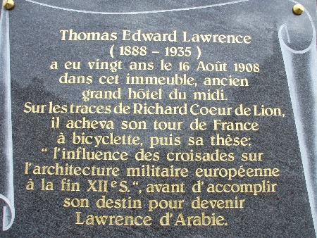 Plaque commemorative lawrence