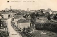 Quartier du bas de la ville hotel de la gare a droite