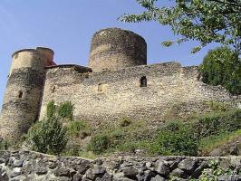Vue actuelle du château de Chalus-Lembron