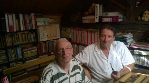 Maurice ROBERT avec Francis LAROULANDIE